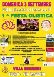 1a festa olistica flero - 3 settembre 2017
