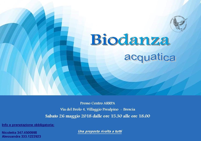 Biodanza Acquatica - maggio 2018